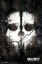 "CALL OF DUTY laminated POSTER ""GHOSTS"" Skull ""LICENSED"" BRAND NEW"