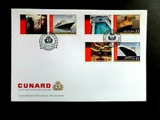 I.O.M. 13th January Cunard 3v + Labels ex Generic sheets SG 1405/b FDC