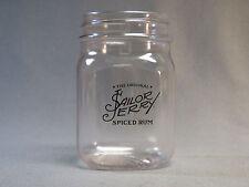 Sailor Jerry Spiced Rum Plastic Mason Jar Drink Mixing Glass 5'' x 2.5'' New