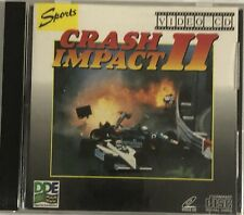 Crash Impact 2 Video CD VCD Format Movie Very Rare Fast Delivery