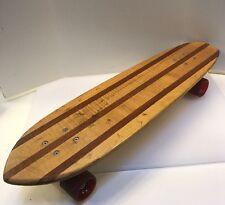 Hobie Weaver Woody Sidewalk Skateboard Surfboard Multi Lam 1970s Vintage Rare