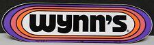 WYNN'S OIL 1969 CHEVY FORD DODGE BOYS DRAG RACING VINTAGE ORIGINAL STICKER DECAL