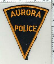 Aurora Police (Colorado) 1st Issue Shoulder Patch