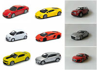 Variety Of Scale Car Models Welly DieCast Car Toy 1:43 Collectable Cars