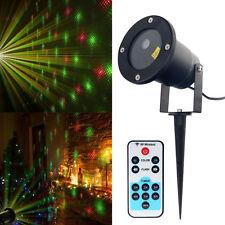 Laser Projector Light Star Lamp Garden House Outdoor Party Festival Discolor