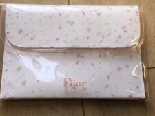 Christian Dior clear Pink Jelly Cosmetic Makeup Bag  *New in box