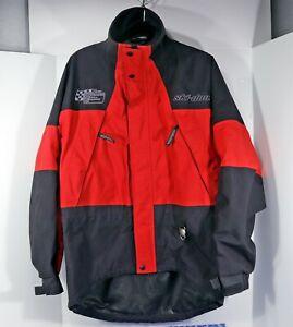skidoo Canada Sno Gear GORE-TEX Waterproof Snowmobile Jacket Men's S, Red,  EUC