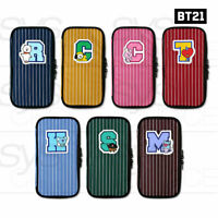 BTS BT21 Official Authentic Goods P-POCKET Ver2 7Characters By Monopoly + Track#