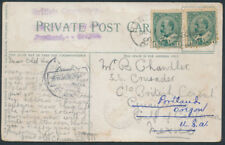 1906 Toronto Church PC, Hanover Ont to Mexico, Redirected to Oregon