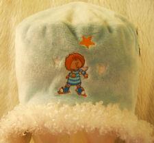 Le ragazze Little Wingels colore Blu Pallido morbida in pile accogliente in Velluto Cappello imbottito caldo Orecchio Nuovo