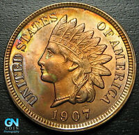 1907 Indian Head Cent Penny  --  MAKE US AN OFFER!  #G8274