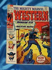 MIGHTY MARVEL WESTERN # 3, Feb. 1969, RAWHIDE KID! KID COLT OUTLAW! VERY GOOD
