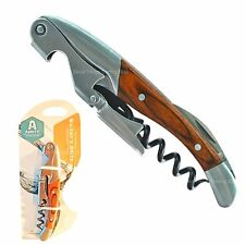 Corkscrew Wine Bottle Opener Grunwerg Double Reach Twin Pull Waiters Friend
