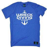 Scuba Diving T-Shirt Funny Novelty Mens tee TShirt - Wreck Diving What Could Pos