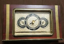 vintage weather station  Seegers Forecaster Temperature Barometer Humidity