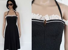 Vintage - 60's années 60 - Authentique  robe bustier pin up dos nu taille 34