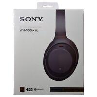 Sony WH-1000XM3 WH1000XM3 Wireless Bluetooth Noise-Canceling Headphones - Black