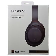 Sony WH-1000XM3 WH1000XM3 Wireless Bluetooth Noise-Canceling Headphones - Black