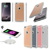 For Apple iPhone 6S 7 8 Plus QI Standard Wireless Charging Receiver Case Cover