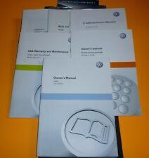 2011 VW JETTA OWNERS MANUAL SET GUIDE 11 w/case BASE S SE SEL 2.0 2.5 NEW
