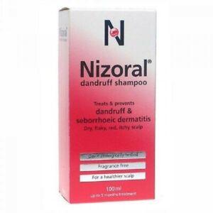 NIZORAL ANTI DANDRUFF SHAMPOO, BRAND NEW IN BOX 100ml. DATED MAY 2023. FREE POST