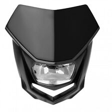 Polisport Halo Black Universal Road Legal Halogen Enduro Headlight