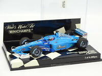 Minichamps 1/43 - F1 Benetton Renault Sport Showcar 2001 Button