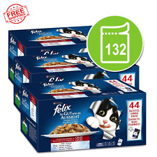 felix as good as it looks Super Pack Wet Cat Food 132 X 100g Meat Selection