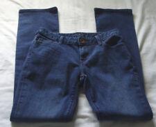 "BANANA REPUBLIC Medium Wash ""SKINNY STRAIGHT"" Jeans Sz 25P (30.5 Inch Inseam)"