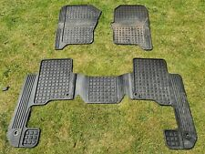 Land Rover Discovery 3 And 4 Rubber Car Mats