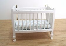 Dollhouse Miniature Furniture ~ Baby Crib ~ Baby's  Room ~ Infant ~