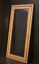 "Kraftmaid Kitchen Husk Suede Maple Glass Door 4 Wall Cabinet 18x36"" R/Left Hand"
