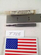 "New listing 1 New Sgs 5/32"" Diameter Carbide Wood Router. 5/8"" Loc. 2 Fl Down Cut Usa -T725-"
