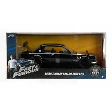 Fast & Furious: Brian's Nissan Skyline 2000 GT-R 1/24 Scale