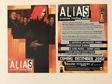 "PROMO CARD: ALIAS SEASON 1 Inkworks NON-SPORT UPDATE ""GUMMIE AWARDS"" Card #G1"