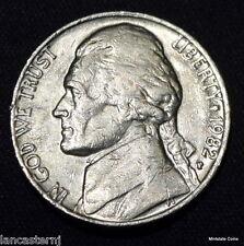 1982-P ( Circulated) Jefferson Nickel Free Shipping Satisfaction Guaranteed