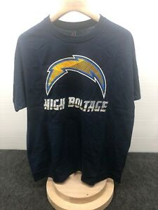 NEW San Diego Chargers NFL Apparel 2 Pack T-Shirts Men's Size XL J06,J08