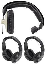 Beyerdynamic DT-102-16 OHM-GREY Single Ear Headphones+(2) Headphones!