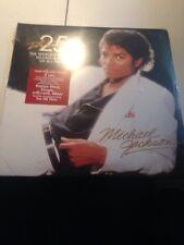 Michael Jackson - Thriller LP [Vinyl NEW] 25th Anniversary Limited Ed. Double LP