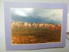 "Vintage Photo Print Angels Over Sedona Matted 12 x 16"" 1994 Richard Stedman"