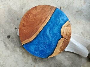 Epoxy Resin Round Coffee Table Top 24 inches Diameter 35 mm thickness (TOP ONLY)
