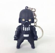 NEW Star Wars Darth Vader Light Up LED With sound Keyring Keychain YS198