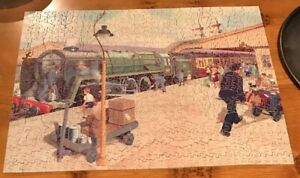 Vintage Victory Artistic 700 Wood Pieces Jigsaw Puzzle 42 Whimsies Holiday Train