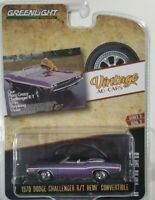 1970 Dodge Challenger R/T Hemi (Greenlight) 1/64 Scale Diecast Car