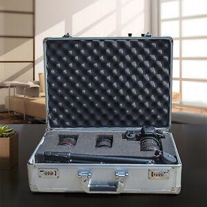 Aluminum Cameras & Accessories Hard Case Equipment Case with DIY Foam Insert