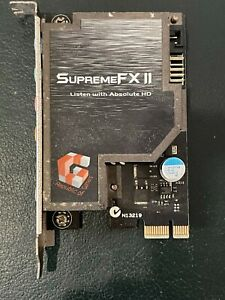 Asus SupremeFX II 2 Soundcard ROG