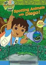 Spotting Animals with Diego! by Brooke Lindner - 2007 Hardcover - New - FREE S&H