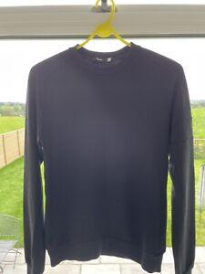 Rapha Black Merino Sweatshirt