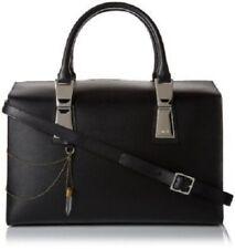 "Authentic Diesel ""Flapupp"" Black Leather Handbag/Shoulder Bag, BNWT."