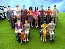 P2501 14pcs Model Trains 1:25 Painted Figures SCALE LGB
